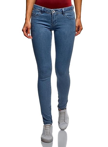 1cf442bc53 oodji Ultra Donna Jeans Aderenti Basic