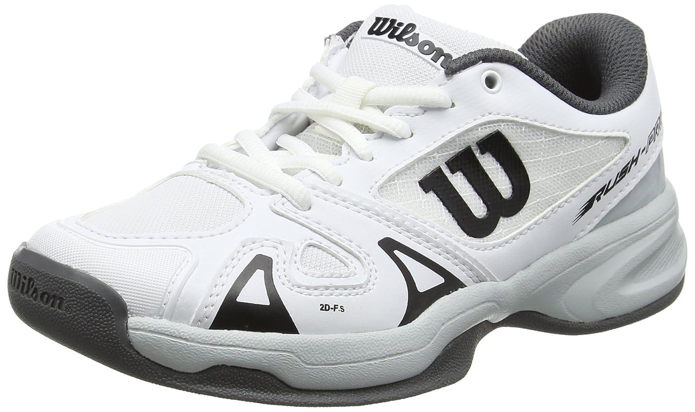 Wilson Enfant Chaussures de Tennis, Idéal pour les joueurs de tous niveaux, Pour tout type de terrain, RUSH PRO JR 2.5, Tissu Synthétique