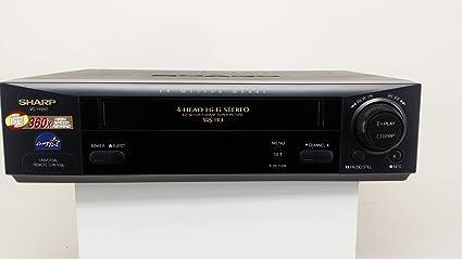 amazon com sharp vc h982 4 head video cassette recorder vcr rh amazon com KB Sharp 6525P5 Sharp ManualsOnline