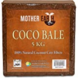 Mother Earth Coco Bale 5 kg, 100% Coconut Coir Fibers