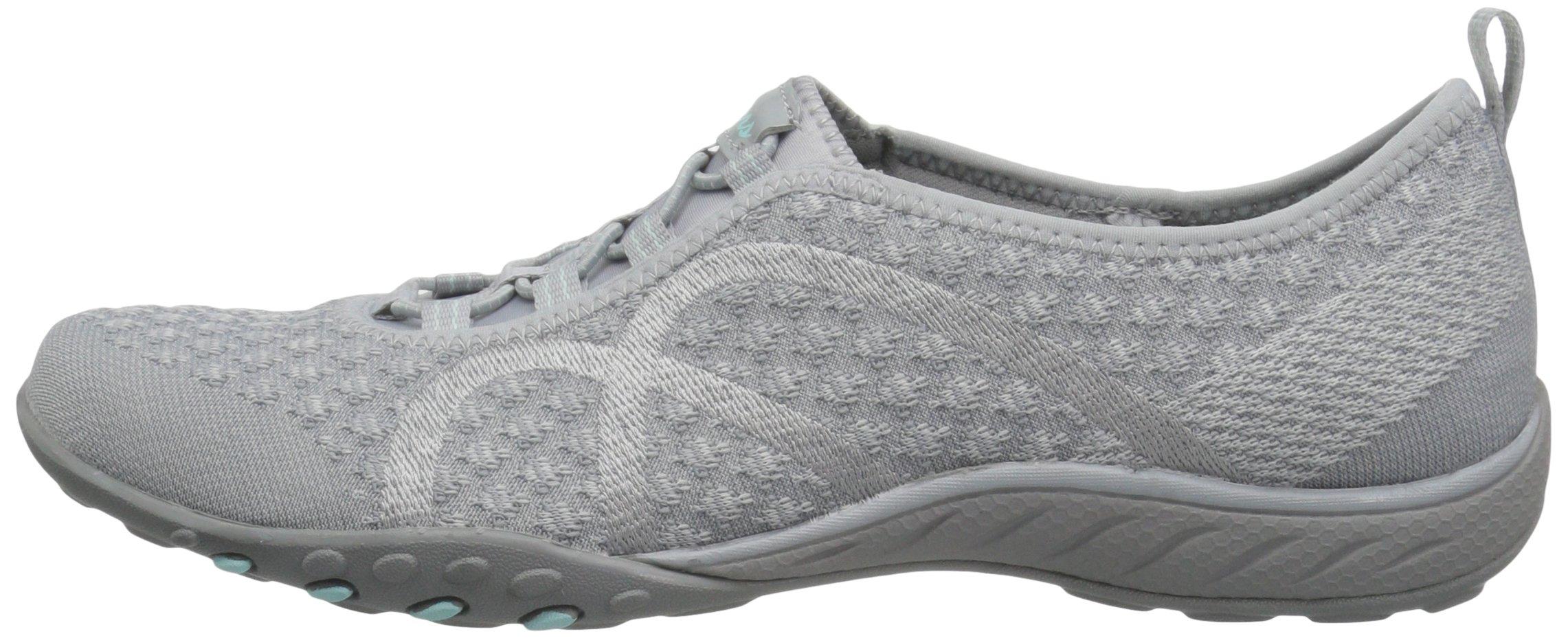 Skechers Sport Women's Breathe Easy Fortune Fashion Sneaker,Grey Knit,5.5 M US by Skechers (Image #5)