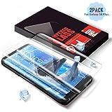 Aonsen Vetro Temperato Galaxy S8 Plus, [2 pack]Alta Definizione Screen Protector per Samsung Galaxy S8 Plus, copertura completa Pellicola protettiva, Durezza 9H, Resistente ai graffi - Trasparente