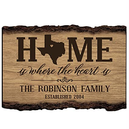 33716c284bb Image Unavailable. Image not available for. Color: LifeSong Milestones  Personalized Texas State Home is ...