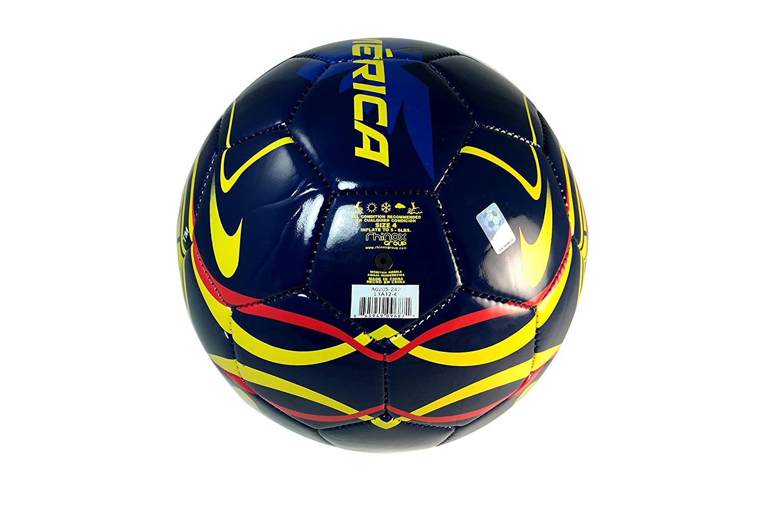 CA Club America Authentic Official Licensed Soccer Ball Size 5-004
