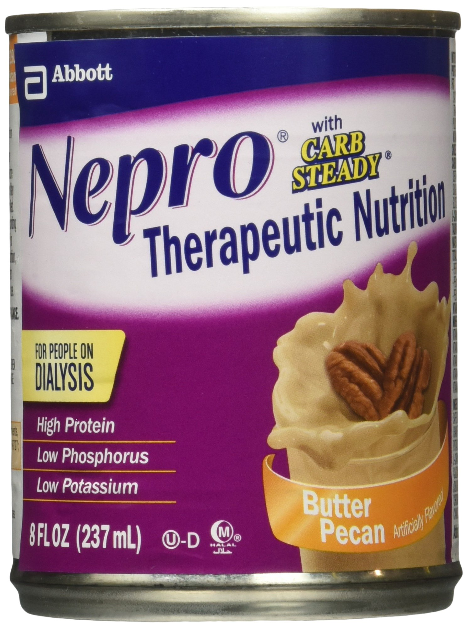 Nepro with Carb Steady Butter Pecan Cans 24 X 8oz Case