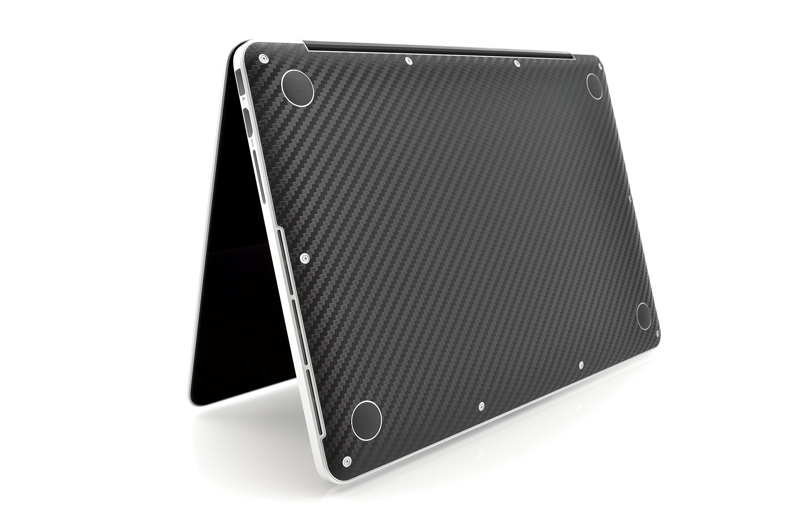 iCarbons Black Carbon Fiber Vinyl Skin for MacBook Pro 13'' Retina Full Combo by iCarbons (Image #6)