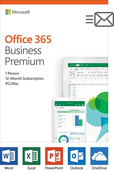 Amazoncom Microsoft Office 365 Business Premium 12 Month