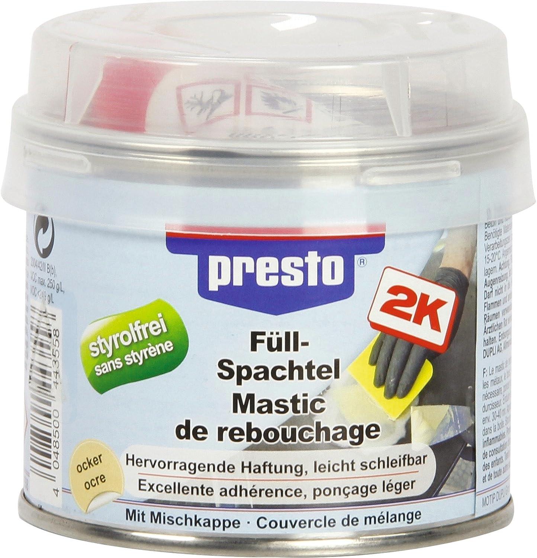 Masilla de masilla polié ster Presto –  250 g Sélection Brico-travo