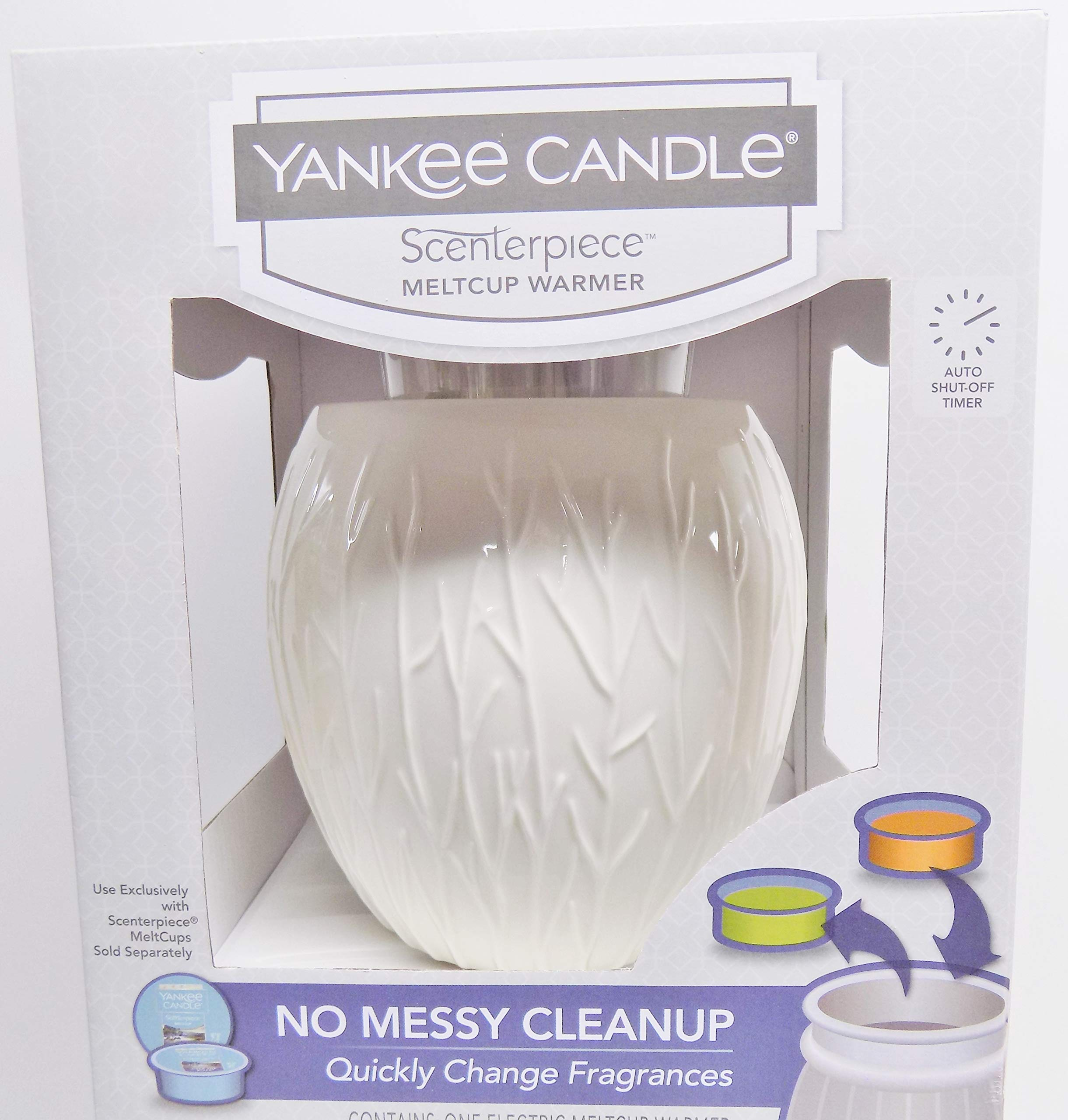 Yankee Candle Forest Glow Scenterpiece Meltcup Warmer With Auto Shutoff Timer by Yankee Candle