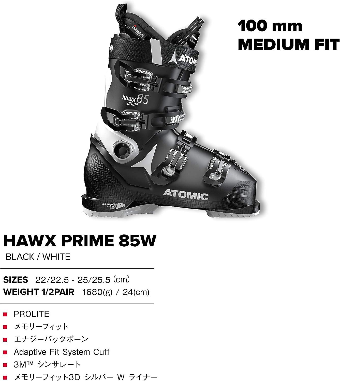 ATOMIC HAWX Prime 85 W Chaussure De Ski Femme BlackWhite