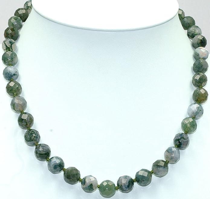 137c1187a09f Ágata (collar) Longitud joyería 45 cm perlado de seda anudada cierre 925er  esterlina-plata número de modelo 5098  schoener-mineralienschmuck ...