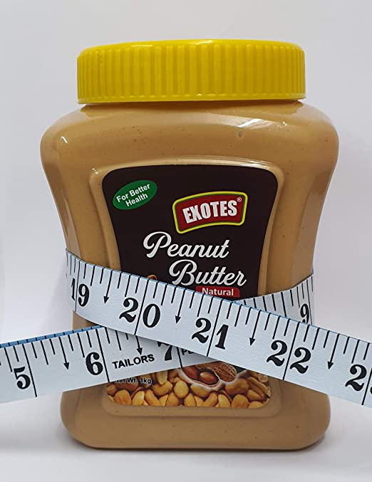 Exotes All Natural Peanut Butter (Unsweetened Smooth), 1000 g