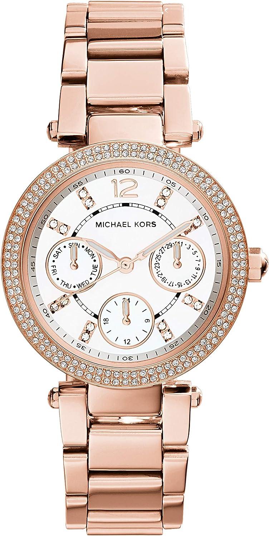 Michael Kors Reloj Analogico para Mujer de Cuarzo con Correa en Acero Inoxidable MK5616