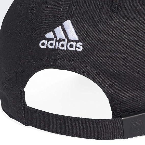 Adidas Women s Cap (CF4993-BLACK White-OSFM Black White OSFM)  Amazon.in   Clothing   Accessories 6acffc20a7a