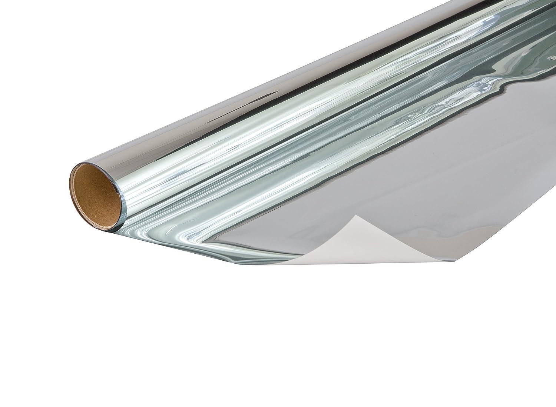 protection contre les UV Film solaire miroir sans tain  75 x 150 cm 53436