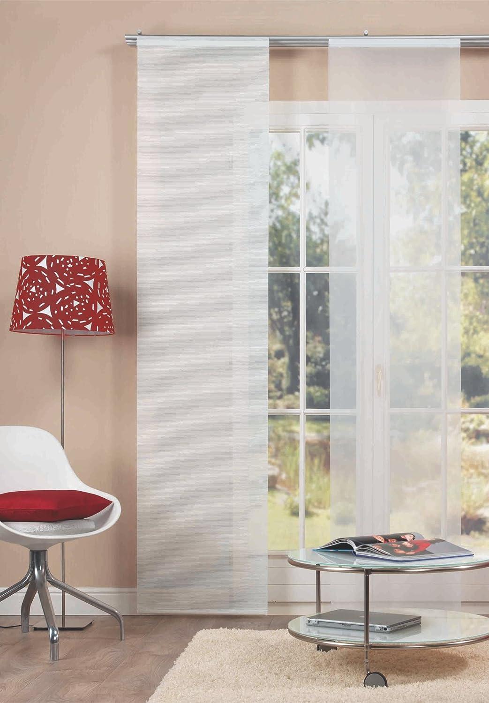 Home Fashion 87103 710 Flächenvorhang Bambus Optik 245 X 60 Cm