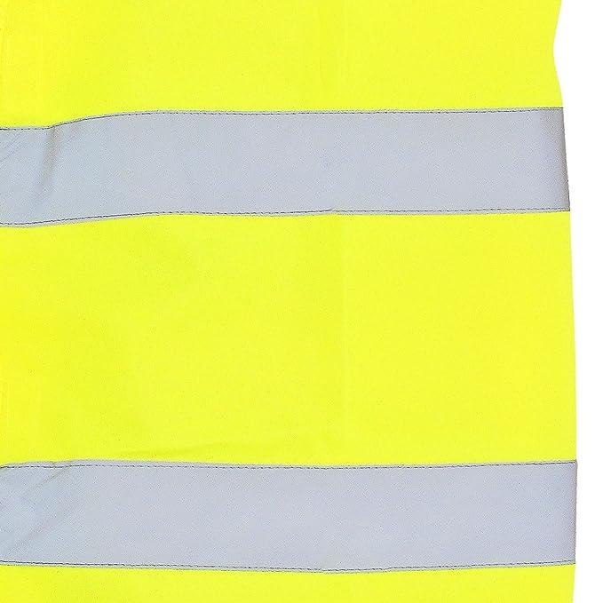 Marc/&Mark Neongelbe Warnweste gro/ßen Gr/ö/ßen bis 10XL