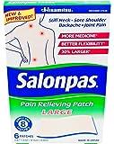 Salonpas Pain Relief Patch Large 6 ct (4 Pack)