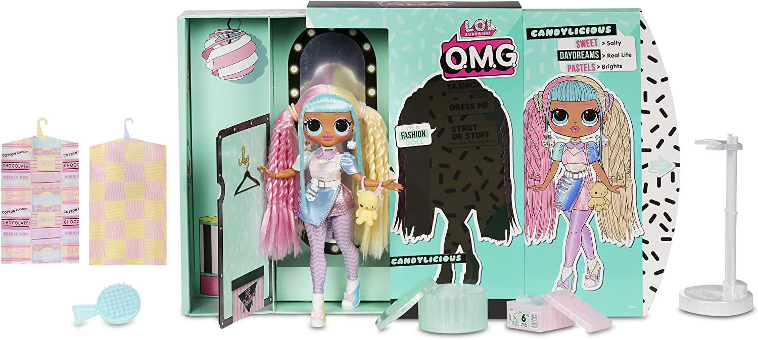 Amazon.com: L.O.L. Surprise! O.M.G. Candylicious Fashion Doll with ...