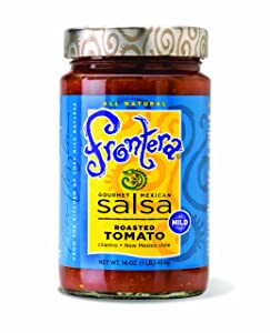 Frontera Roasted Tomato Salsa, 16-Ounce Units (Pack of 6)