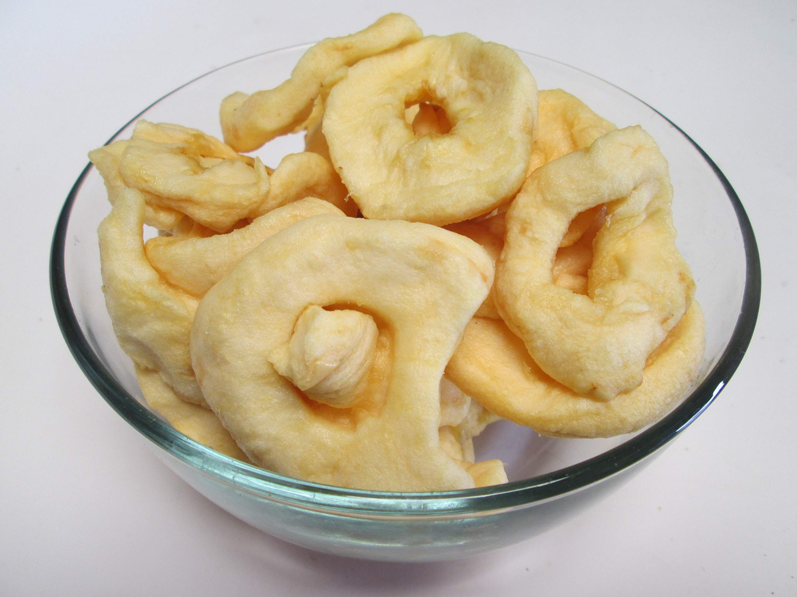 Dried Apple Rings 5 Pound Bag (Bulk) by The Nutty Fruit House