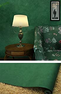 Amao Dark Green Modern Wallpaper Peel And Stick Paper For