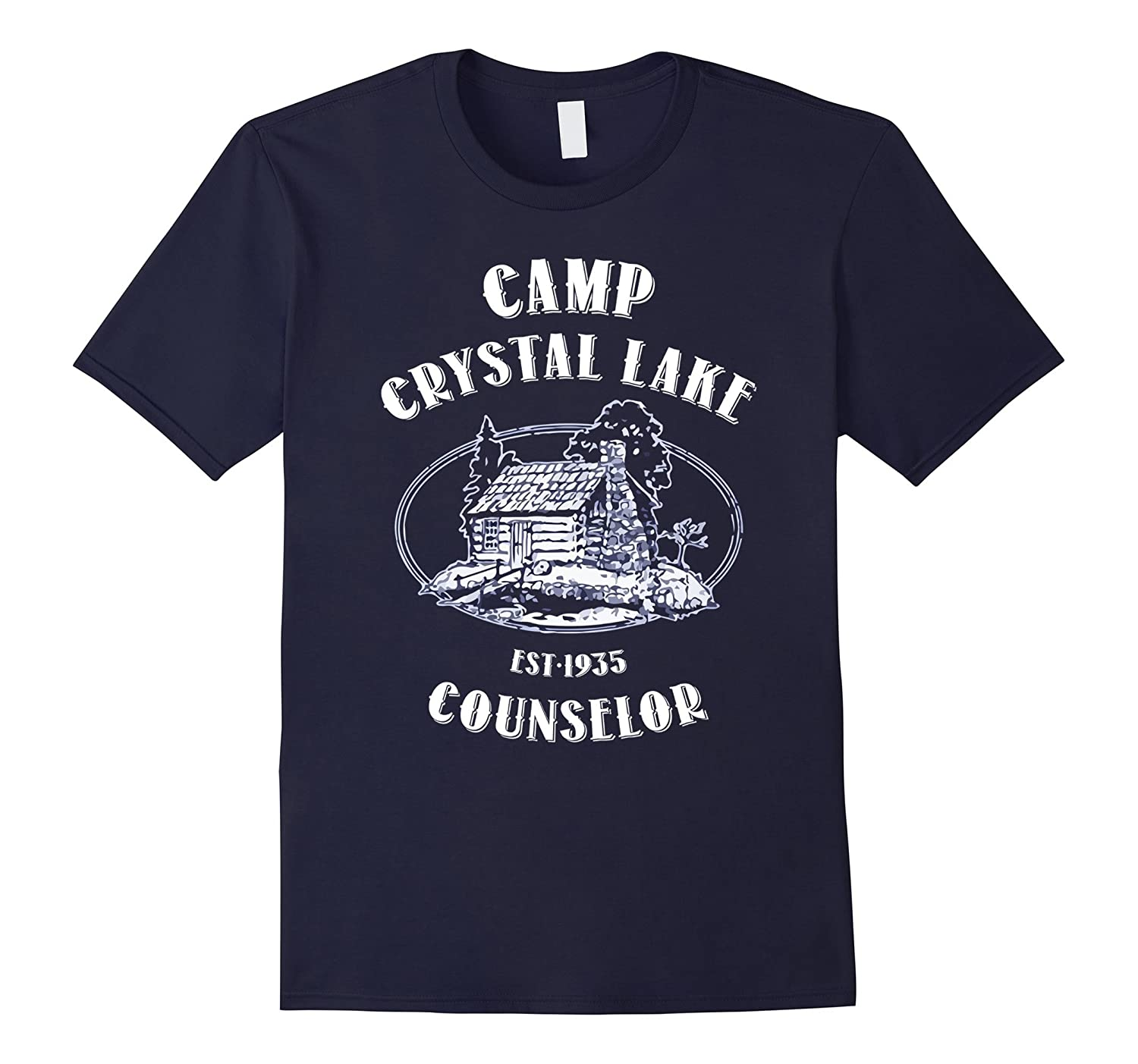 Camp shirts gifts Crystal Lake Counselor Vintage retro style-T-Shirt
