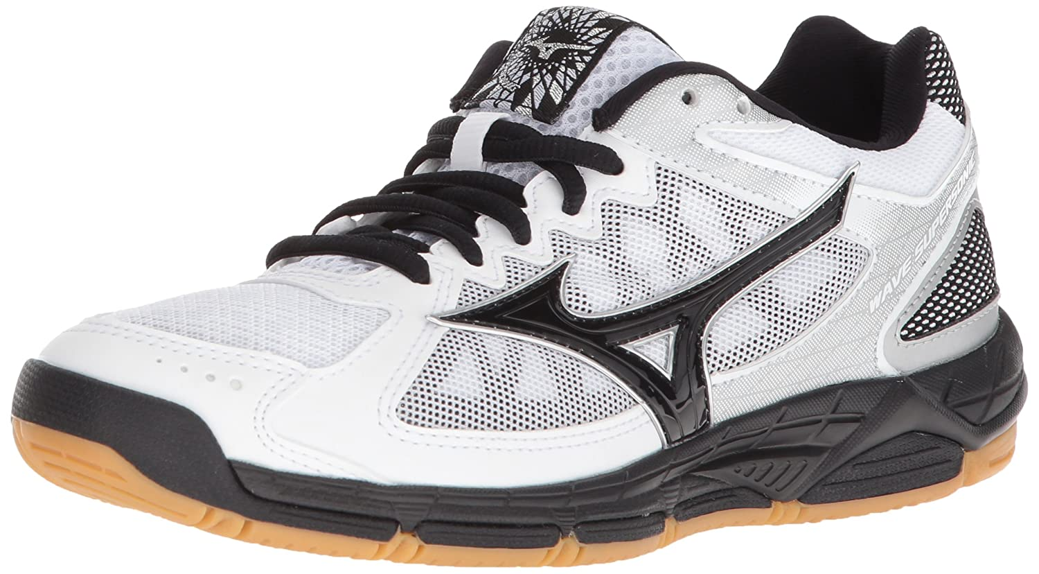 Mizuno Women's Wave Supersonic Volleyball Shoe B07825Q6HF Women's 7 B US|White/Black