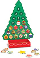 Melissa & Doug Countdown to Christmas Wooden Advent Calendar (Seasonal & Religious, Magnetic Tree, 25 Magnets, Great...