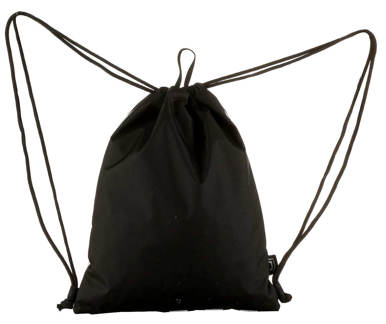 Easy Bag 10 Lt Sacca Sport /& Tempo Libero Bianco /& Nero Juventus ASSIST