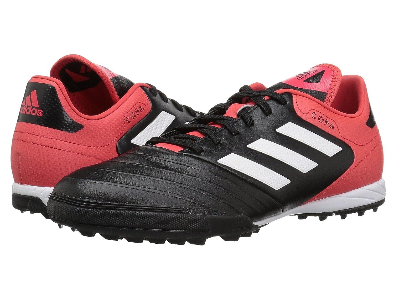 (アディダス) adidas メンズサッカーシューズ靴 Copa Tango 18.3 Turf Black/White/Real Coral 7 (25cm) D - Medium B07BQPL1RQ
