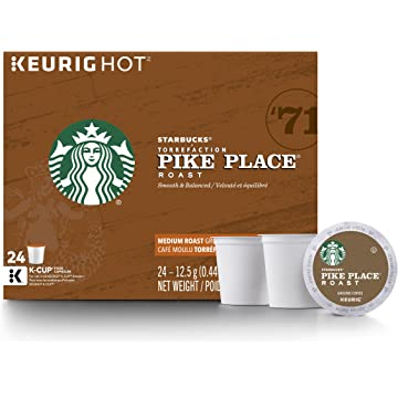 top best Starbucks Pike Place Roast