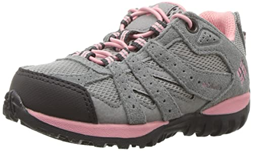 Columbia Childrens Redmond, Zapatillas de Deporte Exterior para Niñas, Gris (Steam/Whitened Violet), 29 EU: Amazon.es: Zapatos y complementos