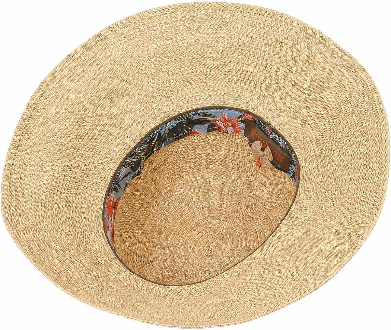 Stetson Capeline Fiorella Femme Chapeau de Soleil DEte Plage Printemps-ete