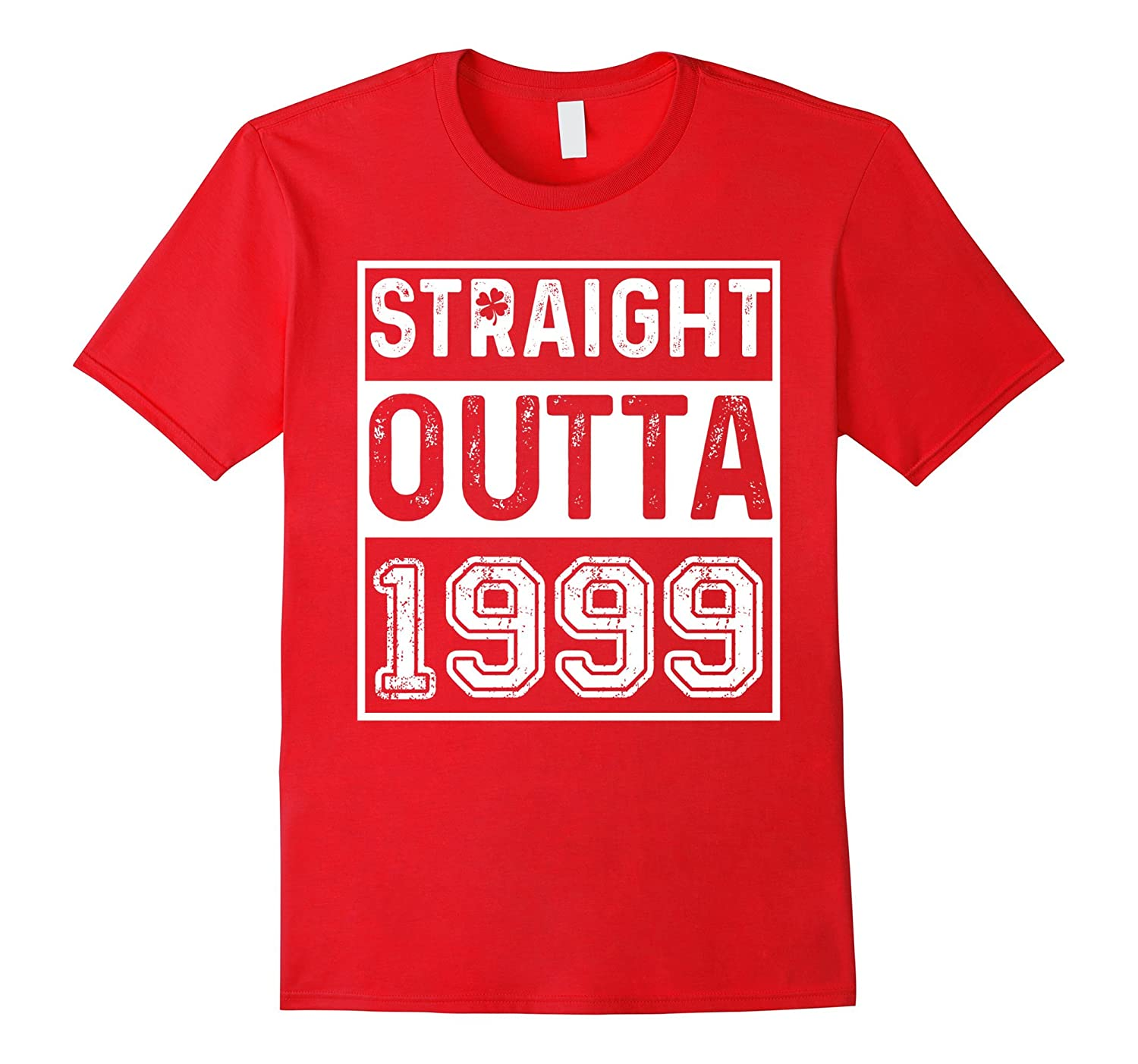 Vintage 18th Birthday Gift Straight Outta 1999 T-Shirt-PL