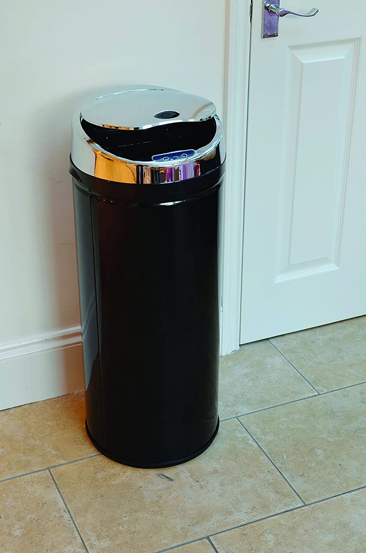 Silver Jean-Patrique Trash Containers
