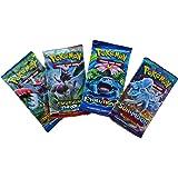Pokemon TCG: 4 Booster Packs – 40 Cards Total  Value Pack Includes 4 Blister Packs of Random Cards   100% Authentic Branded Pokemon Expansion Packs