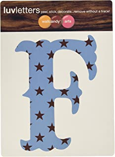 product image for WallCandy Arts Luv Letters Stars Wall Stickers, F