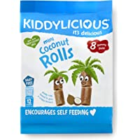 Kiddylicious Mini Coconut Rolls, 54g
