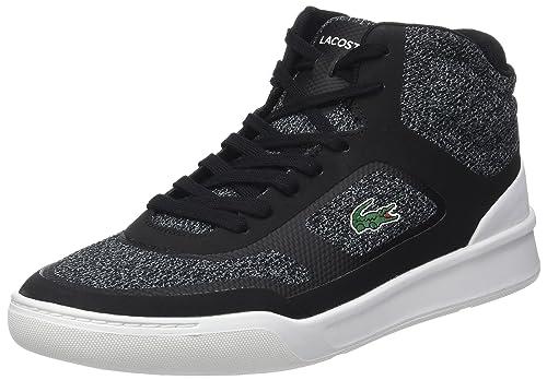 5 Uomo Mid Nero BlkWht Lacoste Sport 40 Sneaker EU Explorateur xnqwvI8