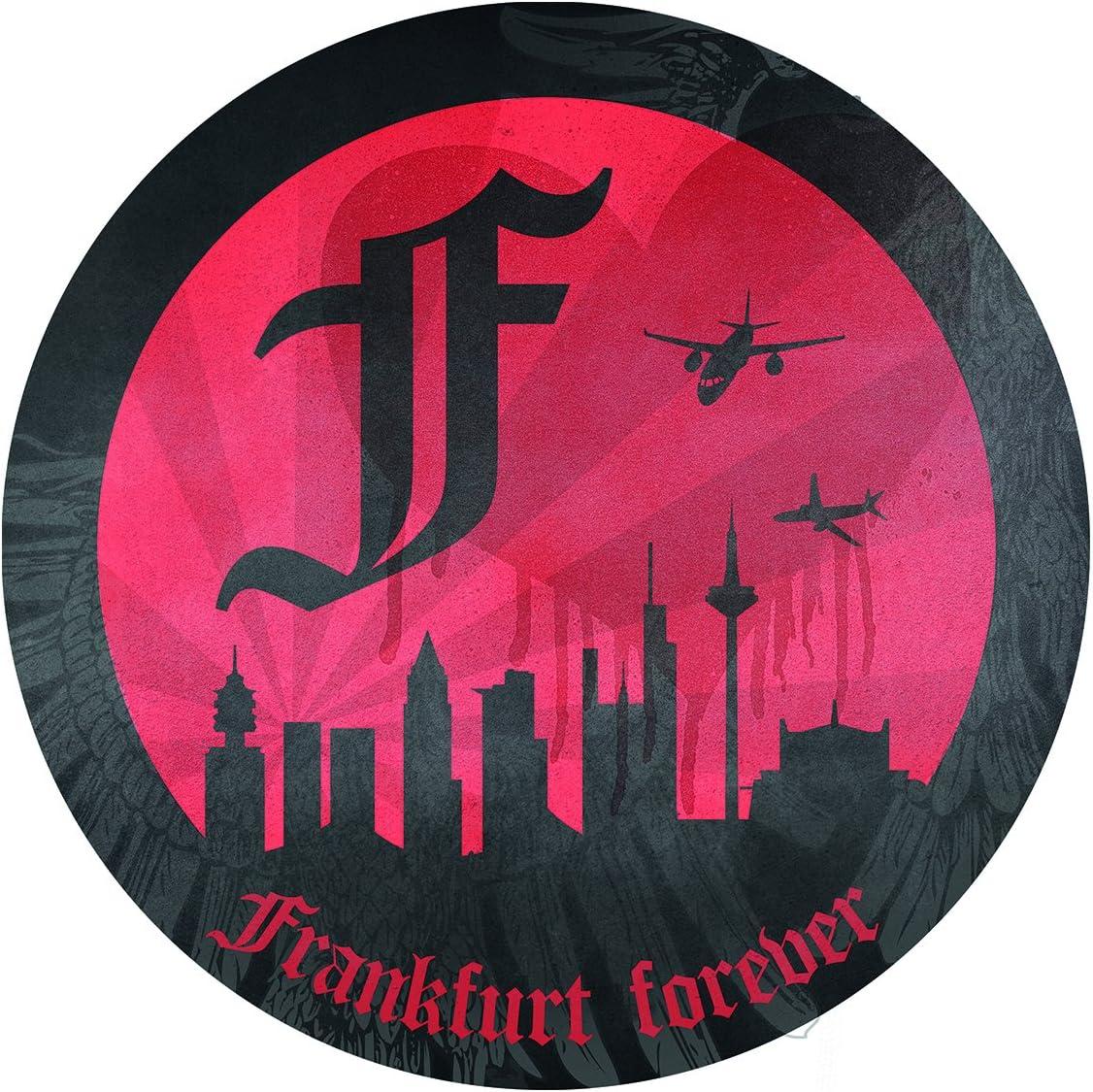 /Plus autocollant Forever Francfort gratuit Eintracht Frankfurt Porte-cl/és Capsules/