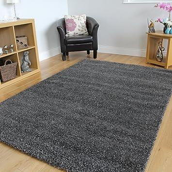 Moderno tappeto Moroccan per soggiorno, grandi dimensioni, grigio ...