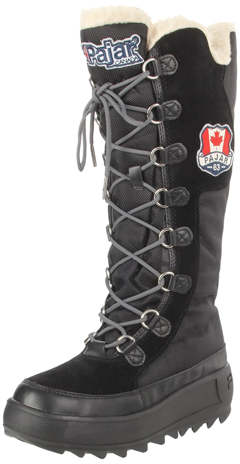 Pajar Women's Greenland Boot B004X99B4A 39 M EU/8-8.5 B(M) US|Black
