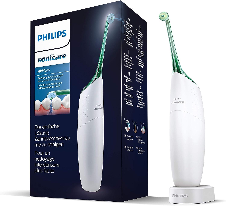Philips Sonicare HX8261/01 AirFloss Microjet interdental recargable + cánula