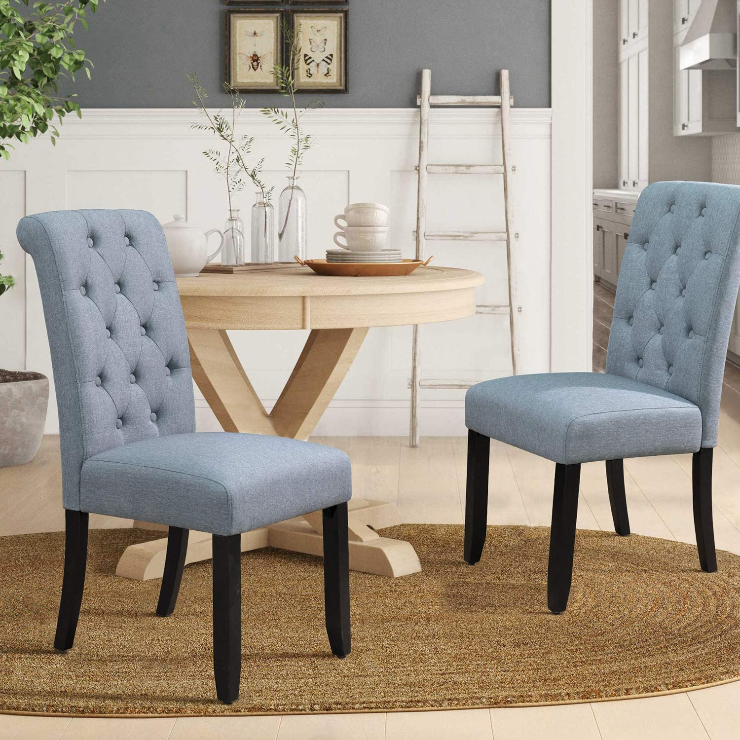 Furmax 300 Pounds Parsons Accent Dining Chair