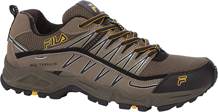 portugués Empleado hotel  Amazon.com | Fila Men's At Peake Trail Running Shoe | Trail Running