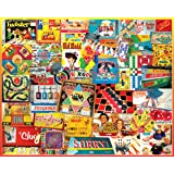 White Mountain Puzzles The Games We Played - 1000 Piece Jigsaw Puzzle