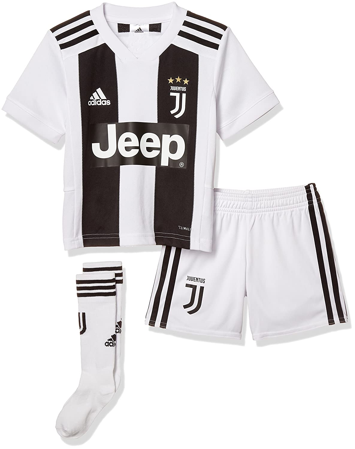 e79ef886f45 adidas Children s Juventus Home Mini Kit  Amazon.co.uk  Sports   Outdoors