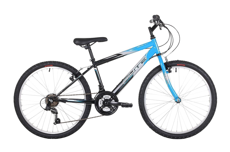 Flite Delta Boys\' Mountain Bike Blue, 14\