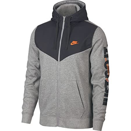 Nike Herren Sportswear Fleece Full Zip Hoodie, grau, XXL  Amazon.de  Sport    Freizeit d812b456ff